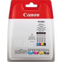Canon CLI-571 Multipack (C,M,Y,BK) eredeti tintapatron (1 év garancia)