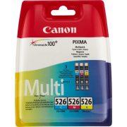 Canon CLI-526 MultiPack (C,M,Y) eredeti tintapatron (1 év garancia)