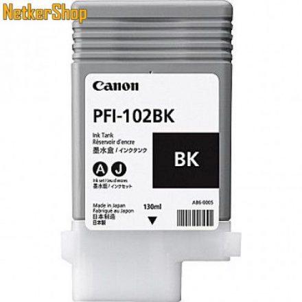 Canon PFI-102BK fekete eredeti tintapatron (1 év garancia)