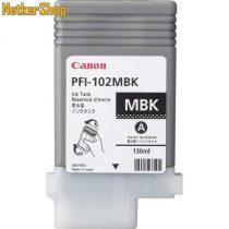 Canon PFI-102MBK matt fekete eredeti tintapatron (1 év garancia)