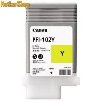 Canon PFI-102Y sárga eredeti tintapatron (1 év garancia)