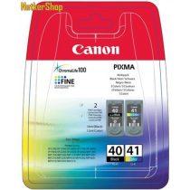 Canon PG-40 / CL-41 Multipack (fekete+színes) eredeti tintapatron (1 év garancia)