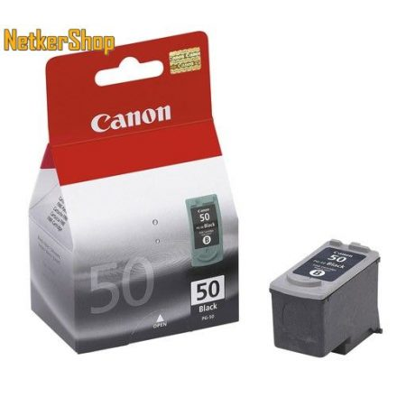 Canon PG-50 fekete (0616B001) eredeti tintapatron (1 év garancia)