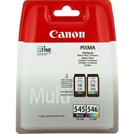 Canon PG-545/CL-546 Multipack fekete+színes (8287B005) eredeti tintapatron (1 év garancia)