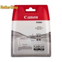 Canon PGI-520BK Duopack fekete eredeti tintapatron (1 év garancia)