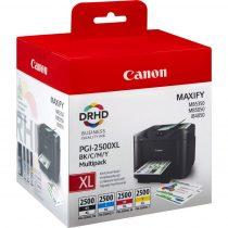 Canon PGI-2500XL Multipack (C,M,Y,BK) eredeti tintapatron (1 év garancia)