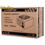 Chieftec 500W GPS-500A8 12cm 80+ BOX Tápegység (3 év garancia)