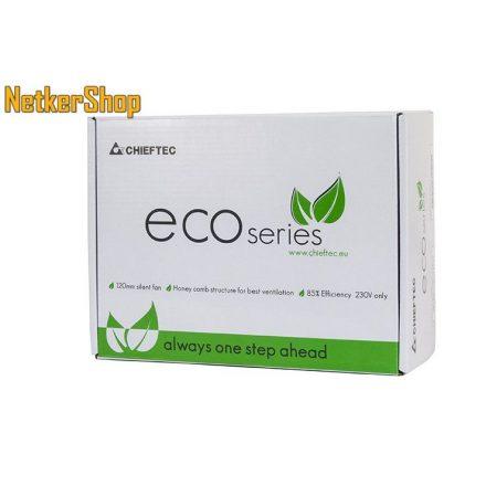 Chieftec Eco GPE-500S 500W 12cm BOX Tápegység (2 év garancia)