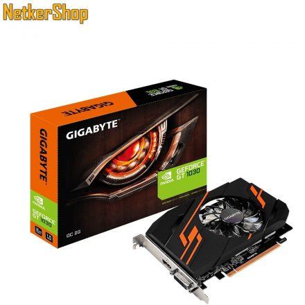 GIGABYTE Nvidia Geforce GT1030 GV-N1030OC-2GI 2GB DDR5 PCI Express Videokártya (3 év garancia)