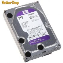 WESTERN DIGITAL WD30PURZ 3TB 64MB SATA3 5400rpm Purple Merevlemez, Winchester, HDD (3 év garancia)