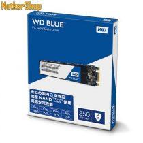 Western Digital WDS250G2B0B 250GB Blue 3D SATA3 M.2 2280 SSD Merevlemez (3 év garancia)