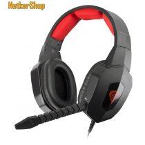 Natec Genesis H59 Gaming fekete-piros mikrofonos Fejhallgató/Headset (2 év garancia)