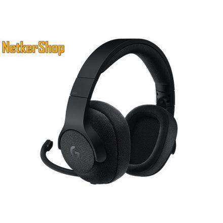 Logitech G433 (981-000668) Gaming 7.1 fekete mikrofonos Fejhallgató/Headset (2 év garancia)