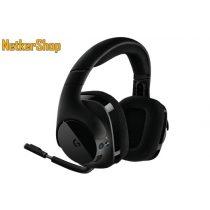 Logitech G533 Wireless (981-000634) Gaming DTS 7.1 fekete vezeték nélküli  mikrofonos Fejhallgató fdc66bccde