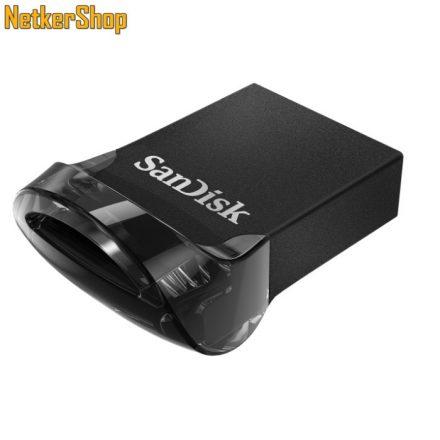Sandisk 16GB Ultra Fit USB3.1 Flash Drive (SDCZ430-016G) fekete Pendrive (5 év garancia)