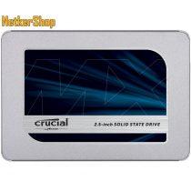 "Crucial CT1000MX500SSD1 1TB MX500 SATA3 2.5"" SSD Merevlemez (3 év garancia)"