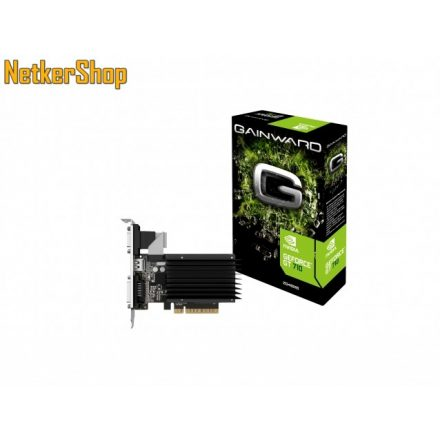 Gainward Nvidia Geforce GT710 2GB DDR3 SilentFX (426018336-3576) PCI Express Videokártya (2 év garancia)