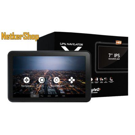 "Wayteq X995 MAX GPS/TAB (X995MAX) 7"" 8GB Bluetooth térkép nélkül (1 év garancia)"
