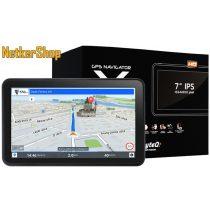 """Wayteq X995 MAX GPS/TAB (X995MAX3D) 7"""" 8GB Bluetooth + Sygic 3D teljes Európa navigációs szoftver (1 év garancia)"""