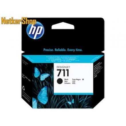 HP CZ133A (711) fekete eredeti tintapatron (1 év garancia)
