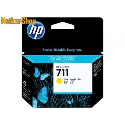 HP CZ132A (711) Yellow eredeti tintapatron (1 év garancia)
