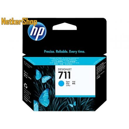 HP CZ130A (711) Cyan eredeti tintapatron (1 év garancia)