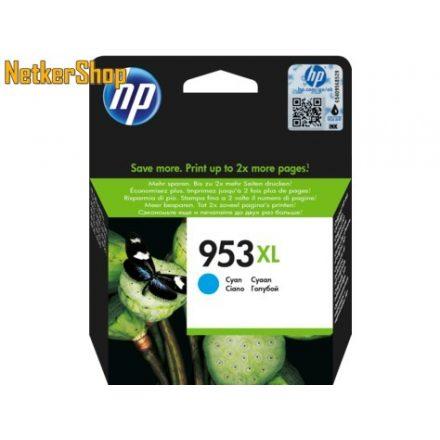 HP F6U16AE (953XL) Cyan eredeti tintapatron (1 év garancia)