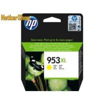 HP F6U18AE (953XL) Yellow eredeti tintapatron (1 év garancia)