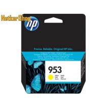 HP F6U14AE (953) Yellow eredeti tintapatron (1 év garancia)