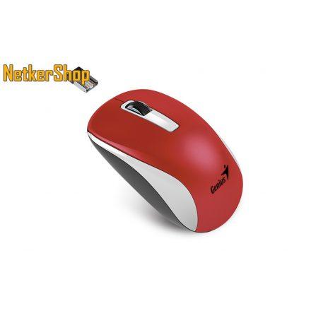 Genius NX-7010 BlueEye vezeték nélküli USB piros egér (2 év garancia)
