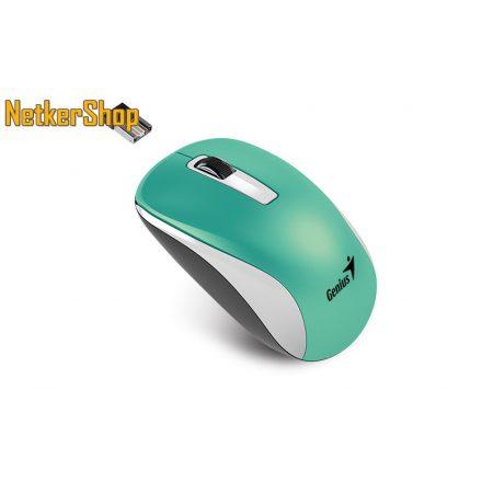 Genius NX-7010 BlueEye vezeték nélküli USB türkiz egér (2 év garancia)