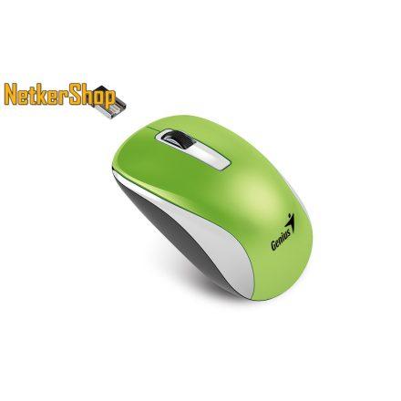 Genius NX-7010 BlueEye vezeték nélküli USB zöld egér (2 év garancia)