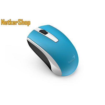 Genius ECO-8100 BlueEye újratölthető vezeték nélküli USB kék egér (2 év garancia)