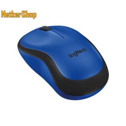 Logitech M220 Silent optikai vezeték nélküli USB kék egér (2 év garancia)