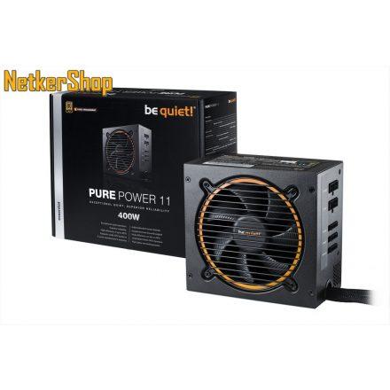 Be quiet! Pure Power 11 BN296 400W 12cm 80 Plus Gold Modular BOX tápegység (3 év garancia)