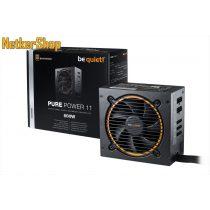 Be quiet! Pure Power 11 BN298 600W 12cm 80 Plus Gold Modular BOX tápegység (3 év garancia)