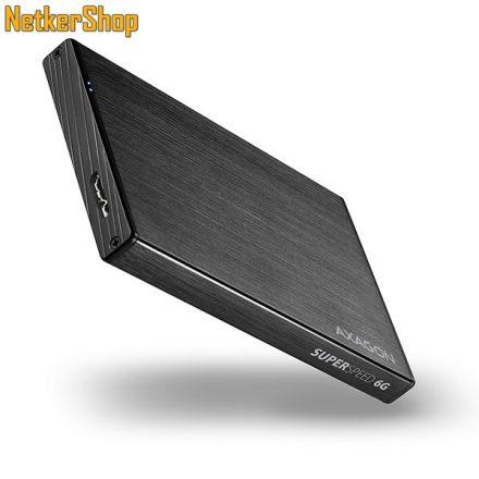 "AXAGON EE25-XA6 ALINE BOX 2.5"" USB3.0-SATA 3 aluminium HDD SSD külső mobilrack (2 év garancia)"
