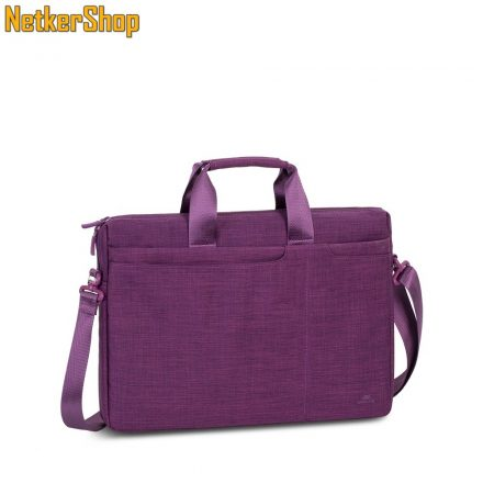 """RivaCase Biscayne 8335 (4260403570821) 15.6"""" lila notebook táska (2 év garancia)"""