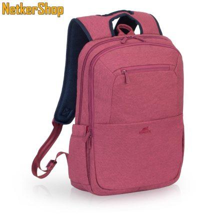 """RivaCase Suzuka 7760 (4260403571903) 15.6"""" piros notebook hátizsák (2 év garancia)"""