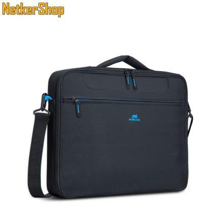 "RivaCase Regent 8087 (4260403573365) 16"" clamshell fekete notebook táska (2 év garancia)"