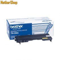 Brother TN-2005 (TN2005) fekete eredeti toner (1 év garancia)