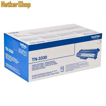 Brother TN-3330 (TN3330) fekete eredeti toner (1 év garancia)