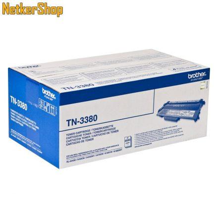Brother TN-3380 (TN3380) nagytöltetű fekete eredeti toner (1 év garancia)