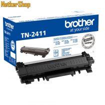 Brother TN-2411 (TN2411) fekete eredeti toner (1 év garancia)