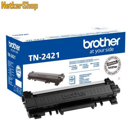 Brother TN-2421 (TN2421) nagytöltetű fekete eredeti toner (1 év garancia)