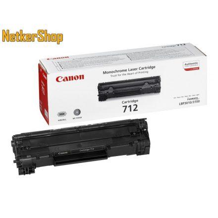 Canon CRG-712 (1870B002) fekete eredeti toner (1 év garancia)