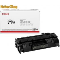 Canon CRG 719 (3479B002) fekete eredeti toner (1 év garancia)