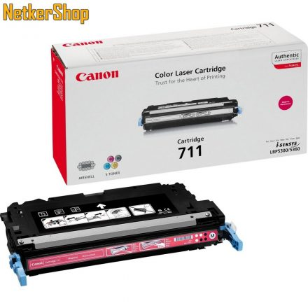 Canon CRG 711 (1658B002) magenta eredeti toner (1 év garancia)