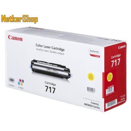 Canon CRG-717 (2575B002) sárga eredeti toner (1 év garancia)