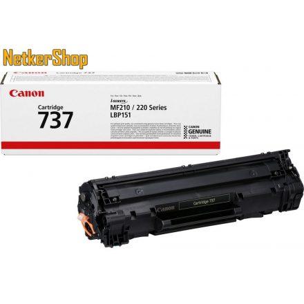 Canon CRG-737 (9435B002) fekete eredeti toner (1 év garancia)